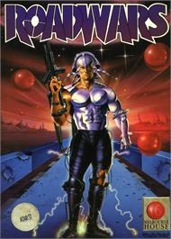 Box cover for RoadWars on the Atari ST.