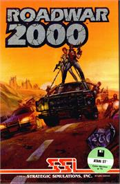 Box cover for Roadwar 2000 on the Atari ST.