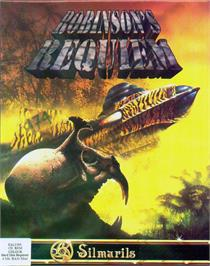 Box cover for Robinson's Requiem on the Atari ST.