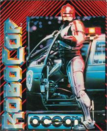Box cover for Robocop on the Atari ST.