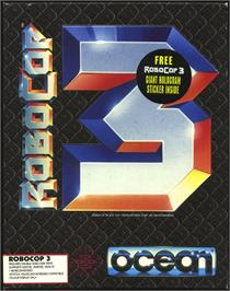 Box cover for Robocop 3 on the Atari ST.
