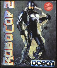 Box cover for Robotron on the Atari ST.