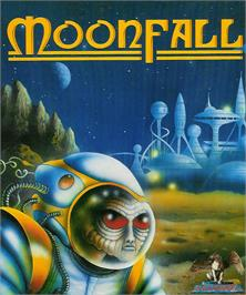Box cover for Rockfall on the Atari ST.