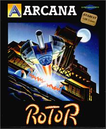 Box cover for Rotor on the Atari ST.