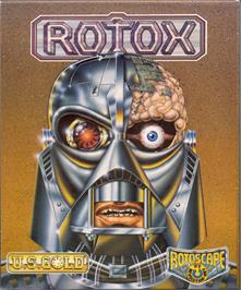 Box cover for Rotox on the Atari ST.