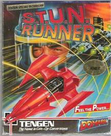 Box cover for S.T.U.N. Runner on the Atari ST.