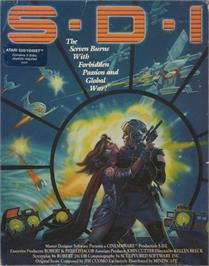 Box cover for S.W.I.V. on the Atari ST.