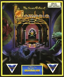 Box cover for Seven Gates of Jambala on the Atari ST.