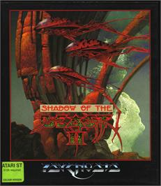 Box cover for Shadow of the Beast 2 on the Atari ST.