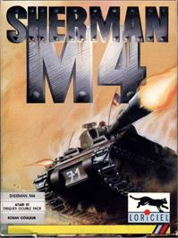 Box cover for Sherman M4 on the Atari ST.