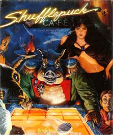 Box cover for Shufflepuck Cafe on the Atari ST.