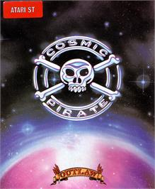 Box cover for Sid Meier's Pirates on the Atari ST.