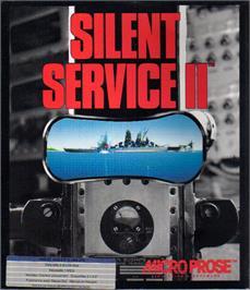 Box cover for Silent Service 2 on the Atari ST.