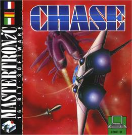 Box cover for Sky Chase on the Atari ST.