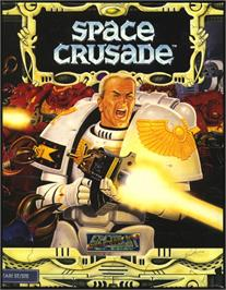 Box cover for Space Crusade on the Atari ST.