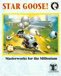 Box cover for Star Goose on the Atari ST.
