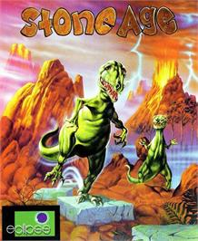 Box cover for Stoneage on the Atari ST.
