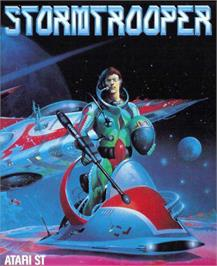 Box cover for Stormbringer on the Atari ST.