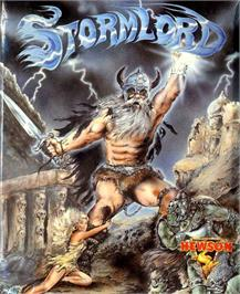 Box cover for Stormlord on the Atari ST.