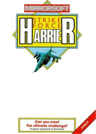 Box cover for Strike Force Harrier on the Atari ST.