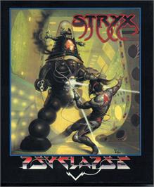 Box cover for Stryx on the Atari ST.