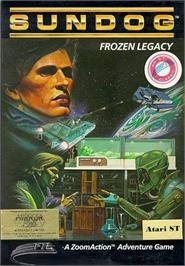 Box cover for SunDog: Frozen Legacy on the Atari ST.