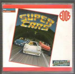 Box cover for Super Cars on the Atari ST.