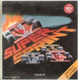 Box cover for Super Sprint on the Atari ST.