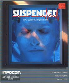 Box cover for Suspended on the Atari ST.