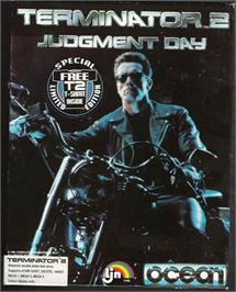 Box cover for Terminator 2 - Judgment Day on the Atari ST.