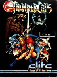 Box cover for Thundercats on the Atari ST.
