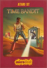 Box cover for Time Bandit on the Atari ST.