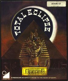 Box cover for Total Eclipse on the Atari ST.