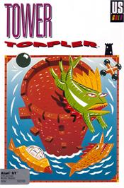 Box cover for Tower Toppler on the Atari ST.