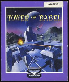 Box cover for Tower of Babel on the Atari ST.