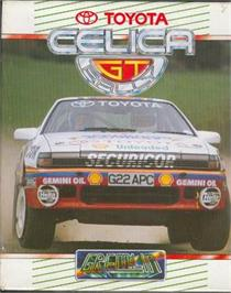 Box cover for Toyota Celica GT Rally on the Atari ST.