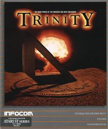Box cover for Trinity on the Atari ST.