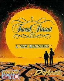 Box cover for Trivial Pursuit: A New Beginning on the Atari ST.