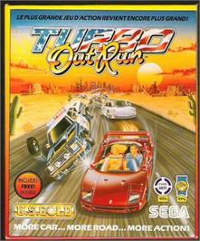 Box cover for Turbo Out Run on the Atari ST.