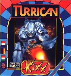 Box cover for Turrican on the Atari ST.