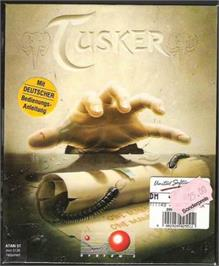 Box cover for Tusker on the Atari ST.