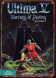 Box cover for Ultima V: Warriors of Destiny on the Atari ST.