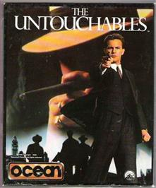 Box cover for Untouchables on the Atari ST.