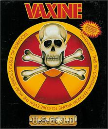 Box cover for Vaxine on the Atari ST.