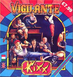Box cover for Vigilante on the Atari ST.