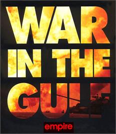 Box cover for War in the Gulf on the Atari ST.