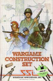 Box cover for Wargame Construction Set on the Atari ST.