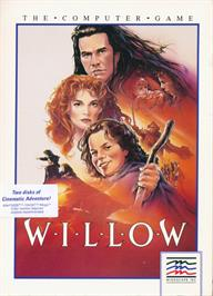 Box cover for Willow on the Atari ST.