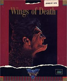 Box cover for Wings of Death on the Atari ST.