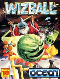 Box cover for Wizball on the Atari ST.